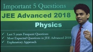 Download JEE Advanced 2018 Physics - Most Important Sample Questions Pattern | Misostudy Video