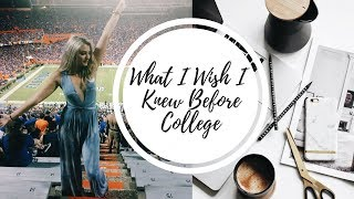 Download WHAT I WISH I KNEW BEFORE COLLEGE! FRESHMAN ADVICE! Video