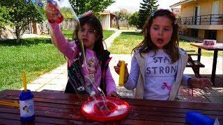Download Φούσκα Bubble Vlog για παιδιά / Σαπουνόφουσκες / ARTEMI ARIADNI STAR / Tricky Bubble Video