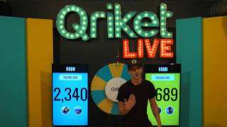 Download QriketLIVE Replay #50 - Free Play $500 Game Video