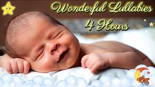 Download 4 Hours Super Relaxing Baby Music ♥♥ Most Soothing Bedtime Lullaby No. 9 ♫♫ Cute Smiling Baby Asleep Video