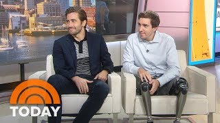 Download Jake Gyllenhaal And Jeff Bauman Talk About Inspiring New Film 'Stronger' | TODAY Video