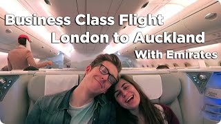 Download Business Class London to Auckland | Evan Edinger Travel Video
