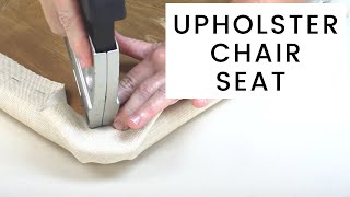 Download How To Re-Upholster A Chair Seat Video