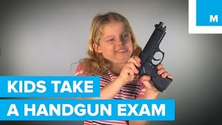 Download Can 3 Kids Pass a Handgun Licensing Exam? | Mashable Video