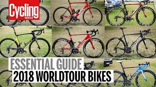 Download 2018 WorldTour bikes guide | Cycling Weekly Video