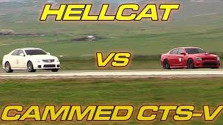 Download Hellcat vs Cammed CTS-V Video