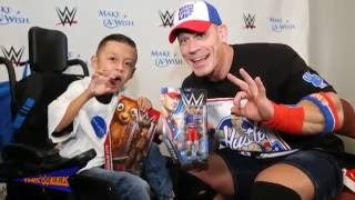 Download Make-A-Wish's Alex ″The Bulldog″ creates a custom John Cena Mattel action figure Video