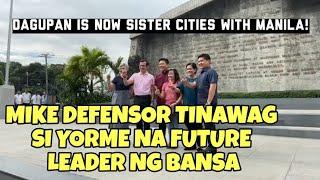 Download Mayor ISKO pinuri ni Mike Defensor at mayor ng Dagupan Video