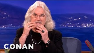 Download Billy Connolly Smoked A Bible - CONAN on TBS Video