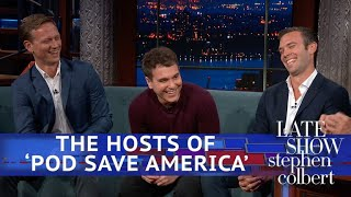 Download Pod Save America Hosts: They Should Be Afraid Of Omarosa Video