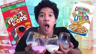 Download DIY CEREAL MILK SODA!!! YUMMY! Video