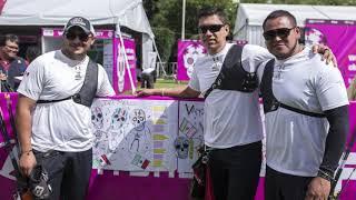 Download Equipo varonil inconforme con su actuación en la 1ra fecha del Mundial de Tiro con Arco. Video