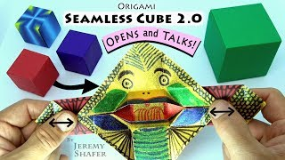 Download Seamless Cube 2.0 - TRANSFORMS INTO TALKING MONSTER!!! Video
