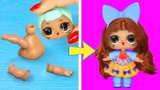 Download 15 Clever LOL Surprise Dolls Hacks And Crafts Video
