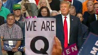 Download Why Was the Letter 'Q' Everywhere at President Trump's Florida Rally? Video
