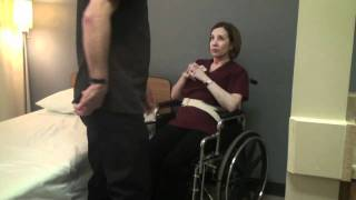 Download Transfer Wheelchair to Bed - CNA State Board Exam Skill Video