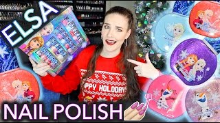 Download Adult Reviews Kids Elsa Nail Polish (not for kids) Video