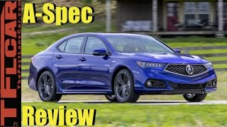 Download 2018 Acura TLX Sneak Peek Review: More Than Just a Pretty New Face? Video