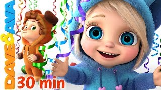Download 🍭 Baby Songs | Nursery Rhymes for Babies | Dave and Ava 🍭 Video