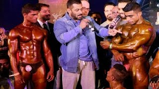 Download Salman Khan At Bodybuilding Competition - BodyPower Expo 2016 Video