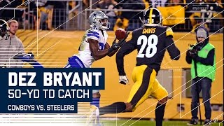 Download Dak Prescott's 50-Yard TD Bomb to Dez Bryant! | Cowboys vs. Steelers | NFL Video
