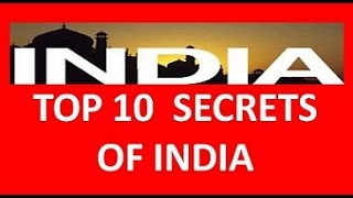 Download TOP 10 SECRETS OF INDIA - Everyone must know Video