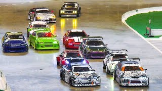 Download GREAT RC DRIFT CAR RACE MODELS IN PAIR COMPETITION / Modell+Technik Stuttgart 2017 Video