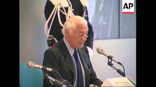 Download ITALY: HEAD OF AUTO GIANT FIAT GIANNI AGNELLI RETIRES Video