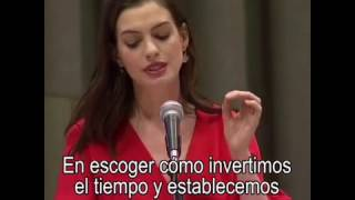 Download Discurso de Anne Hathaway para ONU Mujeres Video
