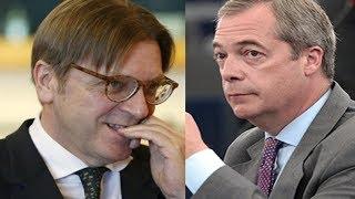 Download Guy Verhofstadt MOCKS Nigel Farage On BREXIT, Gets DESTROYED Instantly. Video