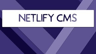 Download Netlify CMS Video
