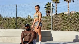 Download Trying new techniques for Bench press with Tamra Dae & Big Tony Video