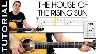 Download Como tocar House Of Rising Sun ( La Casa Del Sol Naciente) en guitarra arpegios y acordes Video