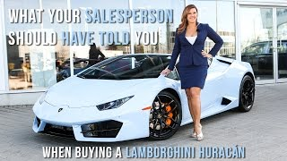 Download What your Lamborghini Salesperson should have told you when buying a Huracán! Video