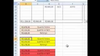 Download Como fazer Planilha de Caixa no Excel para controle de contas. Video