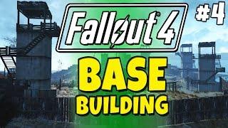 Download Fallout 4 - Building a Base! #4 Prison Island - Gingertanamo Bay Video