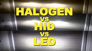 Download Halogen vs HID vs LED Video