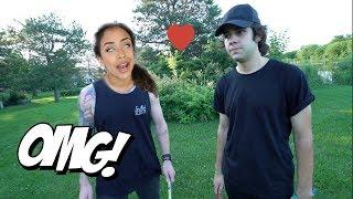 Download HE BURNT OFF LIZA'S HAIR! Video