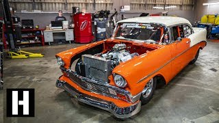 Download 6 Second, 210mph Steel Bodied Beast: '56 Drag Chevy aka The Creamsicle Video
