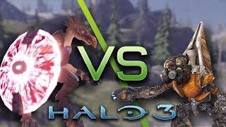 Download Halo 3 AI Battle - Jackals vs Grunts Video