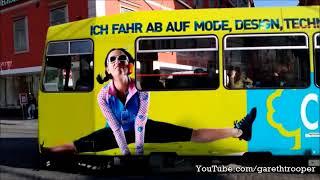 Download HGL Graz Trams at Hauptplatz in Graz,Austria Video