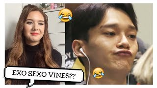 Download EXO SEXO VINES REACTION // ItsGeorginaOkay Video