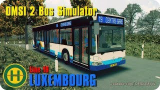 Download OMSI 2 Bus Simulator - LUXEMBOURG map (Mercedes Citaro Line19) Video