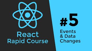 Download REACT JS TUTORIAL #5 - Javascript Events & Data Changes in React Video