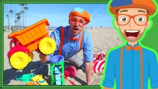 Download Blippi Videos for Kids | Playing with Sand Toys and More! 30 Mins Video