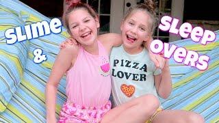 Download Slime Sleepover! Hope's vlogs Video