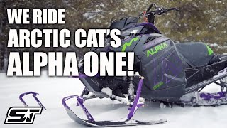 Download Full Review of the 2019 Arctic Cat M 8000 Mountain Cat Alpha One Video