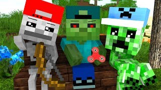 Download Mob Kids Life - Craftronix Minecraft Animation Video