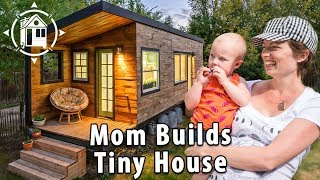 Download Tiny House Family with Two Babies, a Great Dane & Mom Who Built It Video